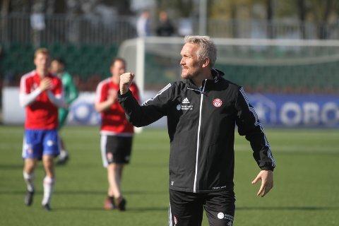 GLEDER SEG: Trener Jørgen Isnes gleder seg til å møte gamleklubben Skeid førstkommende søndag.