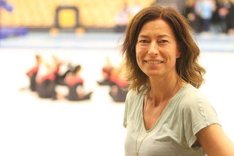 FORNØYD: Nestleder i Oslo Turnforening, Marianne Frisvold Furuseth, var strålende fornøyd med Nordstrand Arena.