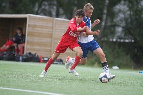 TAPTE: William Kaasa og Nordstrand G05 tapte 2-1 for Fet i 32-delsfinalen i Norway Cup.