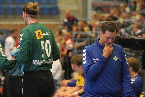 SKUFFET: Trener Tom-Eirik Skarpsno likte dårlig at seieren glapp i kampens aller siste sekund.