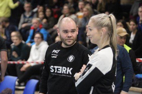 SAMMEN I VIPERS: Oppsal-trener Endre Birkrem Fintland blir assistenttrener for Linn Jørum Sulland i Vipers neste sesong.