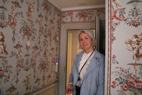 Sabina Widenqvist (35) er hotelldirektør på Ramme Fjordhotell.