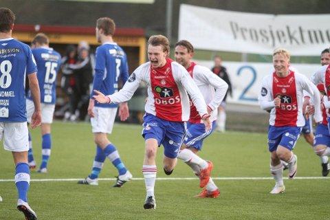MATCHVINNER: KFUMs Robin Rasch ble matchvinner borte mot Kongsvinger søndag ettermiddag.