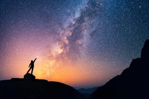 MELKEVEIEN: Omtrent hvor mange stjerner består den av?