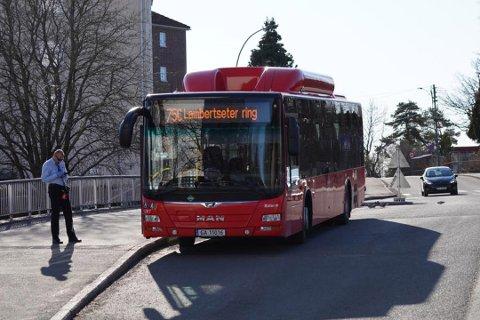 LAMBERTSETER: Fra mandag blir det færre bussavganger på de fleste linjene.