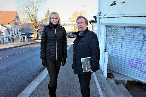 Heidi Aasheim og Bjørn Engen i Nordstrand Vel jobber for at planer for at det nordvestre hjørnet av Sæter skal sendes tilbake for en ny runde i byrådet. Planene avviker fra Sæterplanen på flere punkter.