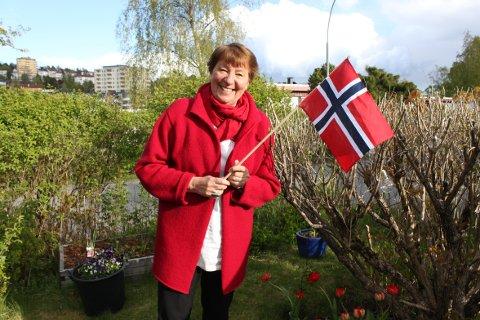 ANNERLEDES FEIRING: – Så håper jeg at vi kan huske dette årets nasjonaldag som en annerledes dag, men forhåpentligvis med gode minner, sier ordfører Marianne Borgen (SV) om årets feiring av nasjonaldagen.