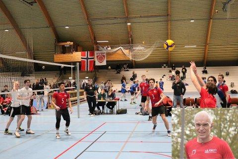 Oslo Volley vil jobbe for en rusfri idrett, i samarbeid med Idrett uten alkohol og Åsmund Kleivenes (innfelt). Her ser vi Oslo Volley i NM U19 tidligere i år.