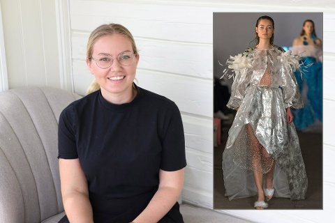 DESIGN SUKSESS: Marte Stensrud fra Nesodden har designet klær som blant annet har vært brukt av artistene Astrid S og Molly Sanden.