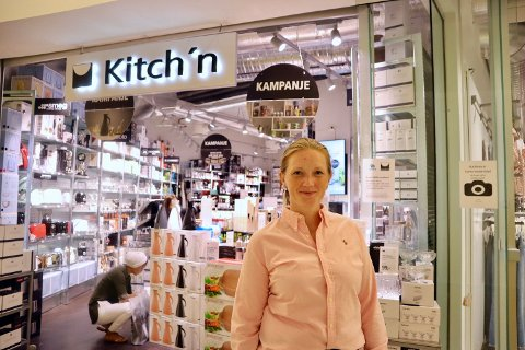 NY BUTIKKLEDER: Til høsten blir Else Pernille Hartmann Nilsen (35) ny butikkleder på Kitch'n Lambertseter.