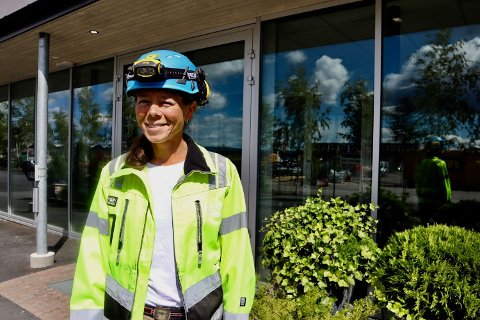 VIKTIG JOBB: Jessica Gunnarsson har som hovedoppgave å optimalisere driften av Bekkelaget Renseanlegg.