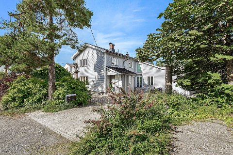 SOLGT: den tidligere boligen til Sigurd Nome ble kuppet før visning.