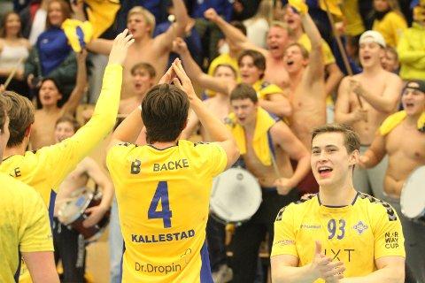 PANGSTART: Høyrekanten Ulrik Berge Eriksson var strålende de første tjue minuttene mot FIVERS, og scoret seks mål på seks skudd da BSK gikk videre i europacupen.