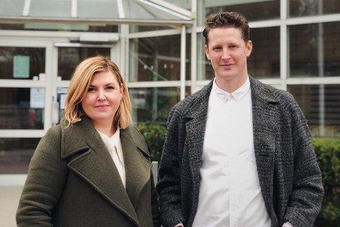 Skuespillerne Bettina Fleischer (40) fra Slemmestad og Ben Noble (36) fra London flyttet sammen til Nordstrand for halvannet år siden sammen med sine to små barn.