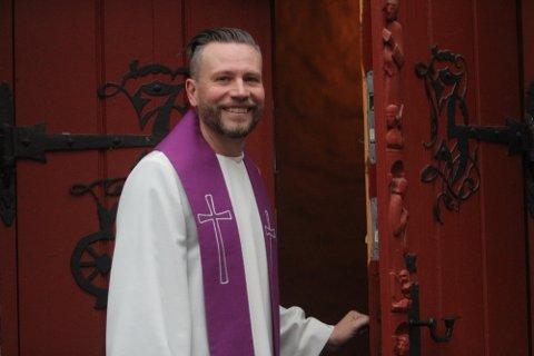 Morten Holmqvist er prest ved Ljan kirke og går en annerledes påske i møte.