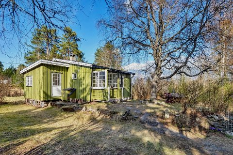 Den 43 m² store fritidsboligen i Kirkeveien på Nesodden vakte stor interesse da den nylig ble lagt ut for salg.