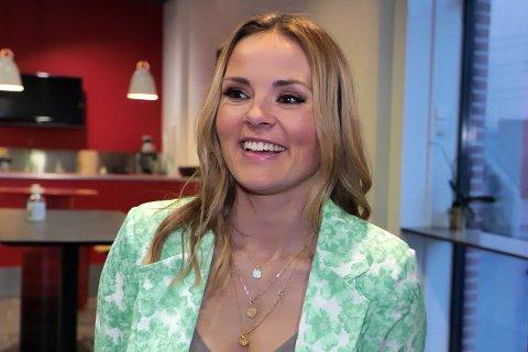 NYE TAKTER: Helene Olafsen er ferdig med Senkveld på TV, men nå har hun fått ny jobb.