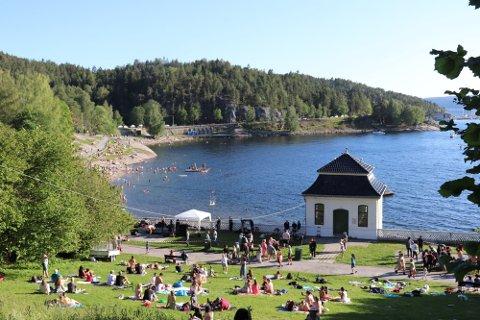 Det er rekord på antall sommerdager i Oslo.