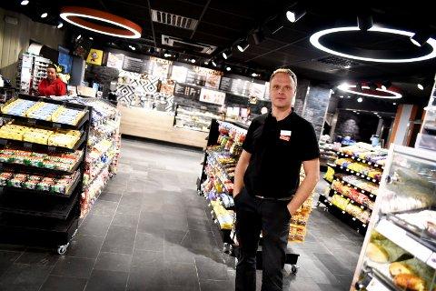 Daglig leder Svein Tore Nymoen ved Circle K på Otta.