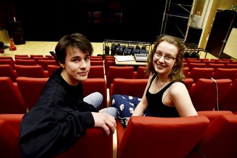 Premiereklare: Sebastian Schakenda og Ilse Munch Lindvig ser fram til premieren førstkommende tirsdag.