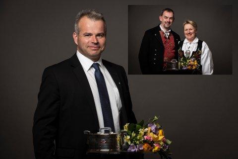 Torun og Per Heringstad,  Heidal og Randi Valde og Roar Sletten, Vågå fikk det synlige beviser tirsdag kveld.