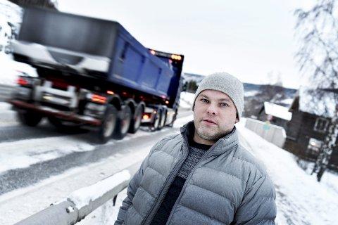 Bekymret: Daglig leder i Nord-Gudbrandsdal Næringsforening, Trygve Groven, er bekymret for signaler om kommende permitteringer innen bygg og anlegg i tiden fremover.Foto:Arkiv