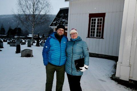 Ekteparet Sigurður Grétar Sigurðsson og Anna Elisabet Gestsdottir står for julegudstjenestene i Sel i år.