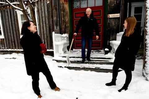 Mette Vårdal, Dag Lindvig og Solveig Brekke Hauknes har stor tru på prosjekta dei skal setja ut i livet i 2021.