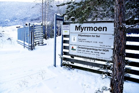 Deponiet for inerte masser på Myrmoen miljøstasjon er snart fullt. NGR har søkt om å utvide kapasiteten med 12.000 tonn.