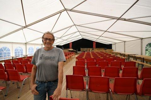 Øystein Ulen ønsker folk hjertelig velkomne den 14. august.