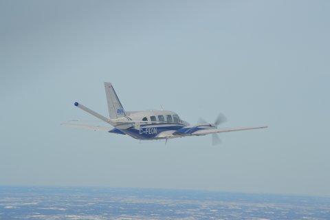 Kanskje du ser et slikt fly i lufta i løpet av juli til september.
