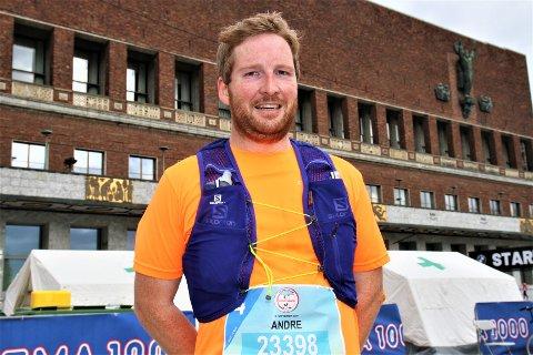 Andre Nesset fullførte halvmaraton i Oslo for første gang. Snart venter karrierens aller første ultraløp for den spreke butikksjefen.