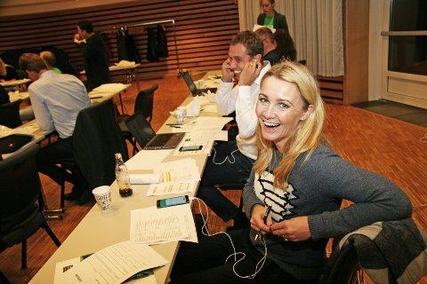 - VIKTIG SAK: Anne Berit Figenschou (Skatt Nord) og Christian Chramer (NHO Troms) deltok på årets giverstafett foran TV-aksjonen NRK.