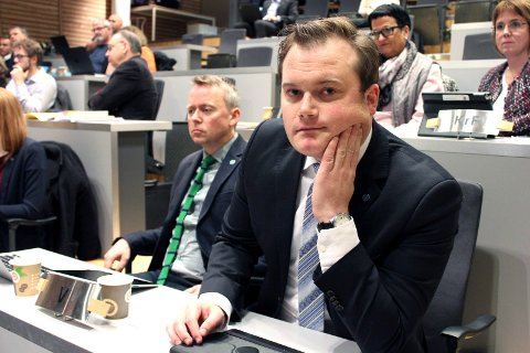 RÅDGIVER: - Tidligere byråd Jonas Stein (V), blåser liv i ett eget foretak, og blir rådgiver.   Foto: Bengt Nielsen
