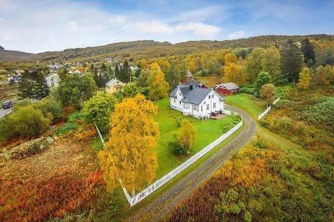 Over takst: Denne eiendommen i Bjerkvik gikk 1,3 millioner over takst. Bilde med tillatelse fra Eiendomsmegler 1/ Foto: Punsvik foto.