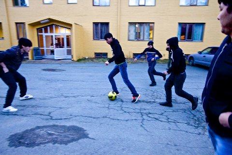 NYE MOTTAK: UDI planlegger å doble antallet ordinære asylplasser i Nord-Norge, for å kunne håndtere strømmen av asylsøkere. Her fra det akuttmottaket på Brennfjell, et midlertidig mottak i Storfjord kommune.     Foto: Ola Solvang.