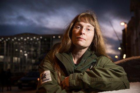 Hanne Stenvaag, daglig leder ved krisesenteret i Tromsø