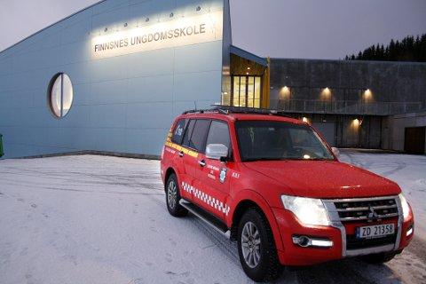 Brannvesenet gir Finnsnes ungdomsskole bruksforbud etter skoletid.