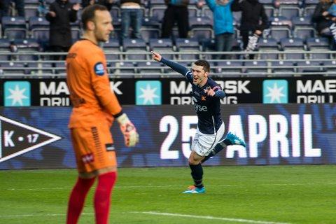 Benny Lekström tabbet seg ut i Stavanger. Foto: Scanpix.