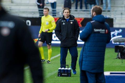 Steinar Nilsen var skuffet etter kampen i Stavanger: Foto: Scanpix.