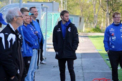 David Lundblad og FK Senja tapte 0-4 i sesongens første hjemmekamp