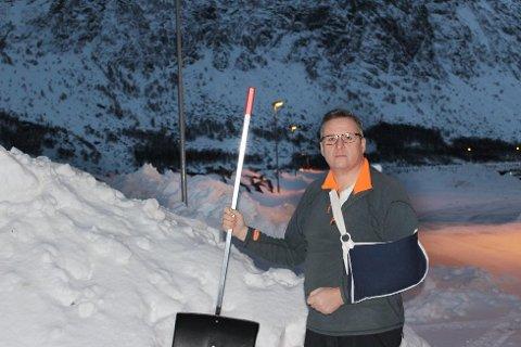 Ordfører i Torsken kommune, Fred Flakstad (Ap).