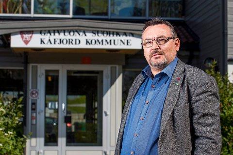 Fungerende ordfører i Kåfjord, Svein O. Leiros
