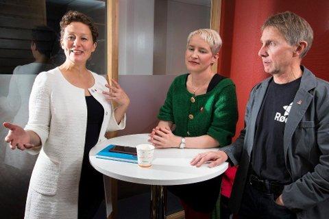 - ALVORLIG SITUASJON: Kristin Røymo, Ingrid Marie Kielland og Jens Ingvald Olsen ligger an til å mangle 200 millioner kroner i året til drift. - Situasjonen er alvorlig, sier Røymo.