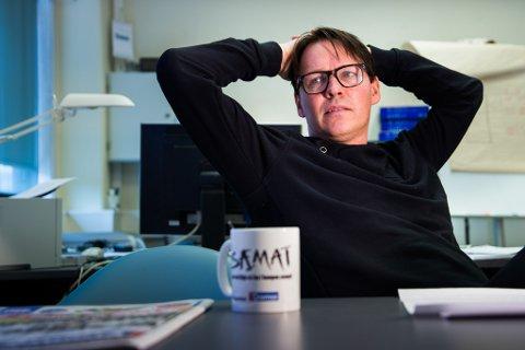 Stig Jakobsen, sjefredaktør og adm. direktør i avisa iTromsø.