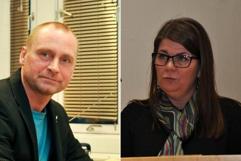 ORDFØRER OG VARAORDFØRER: Ronny Berg (Frp) blir ordfører, mens Trine Noodt (V) inntar varaordførerrollen