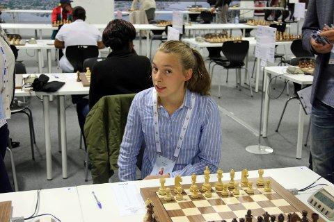 TIL EM: Tromsøs Monika Machlik er med på det norske laget som skal spille EM på Island.
