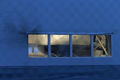 PÅ BAKKEN: West Atlantics fly på Tromsø Lufthavn står på bakken. Flyselskapet har satt sine tre fly i Norge i bakken.