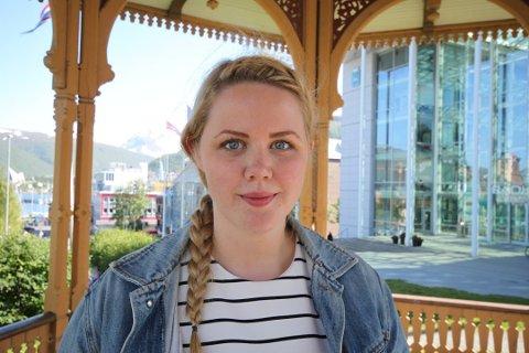 GIR SEG: 26 år gamle Marta Hofsøy gir seg i lokalpolitikken.