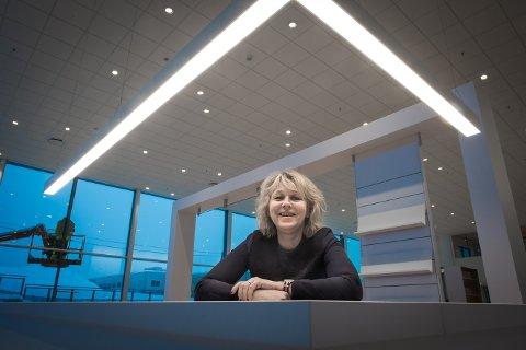 GODE TIDER: Anne Gjerdrum kan melde om gode tider i bransjen. Nå trenger de folk.